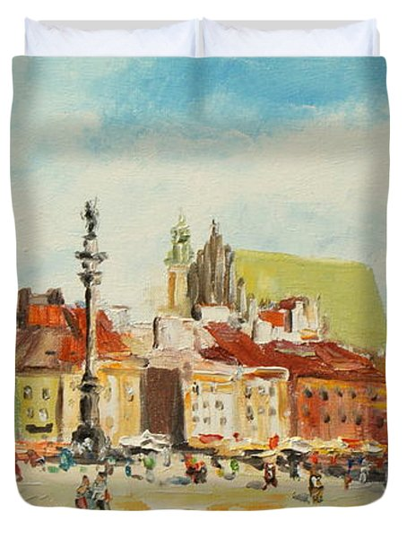 Warsaw- Castle Square Duvet Cover