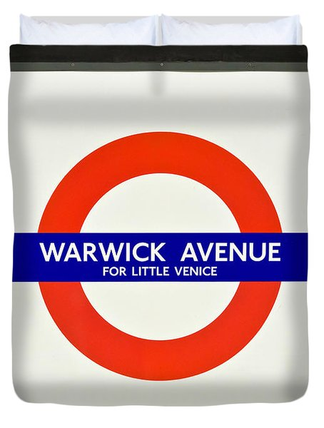 Warwick Station Duvet Cover