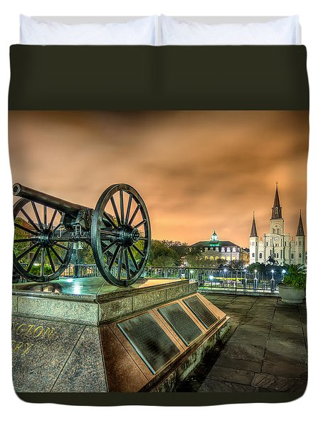 Washington Artillery Park Duvet Cover