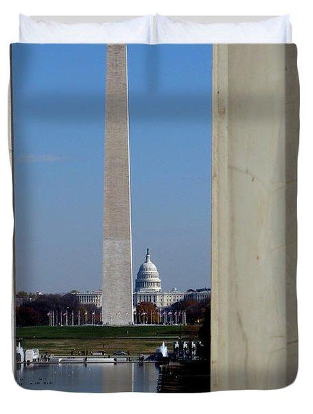 Washington Landmarks Duvet Cover