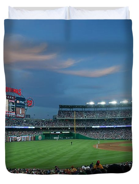 Washington Nationals In Our Nations Capitol Duvet Cover