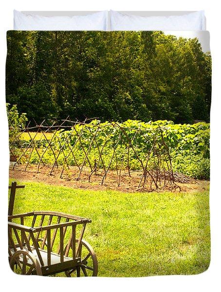 Washington's Garden Duvet Cover