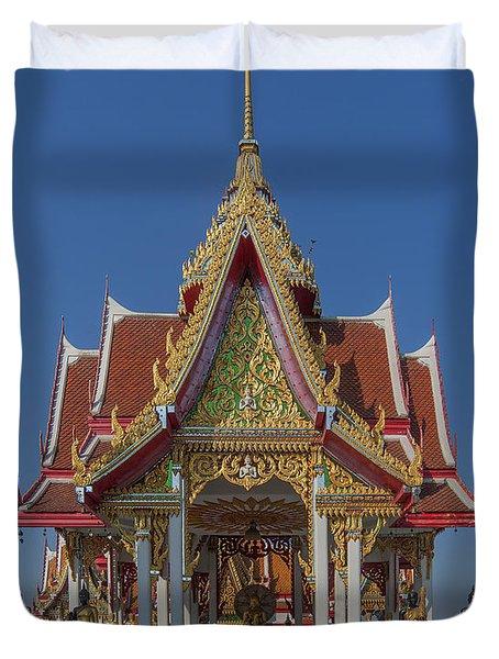 Wat Bukkhalo Central Roof-top Pavilion Dthb1809 Duvet Cover