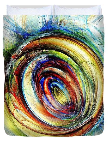 Watchful Eye Duvet Cover by Anastasiya Malakhova