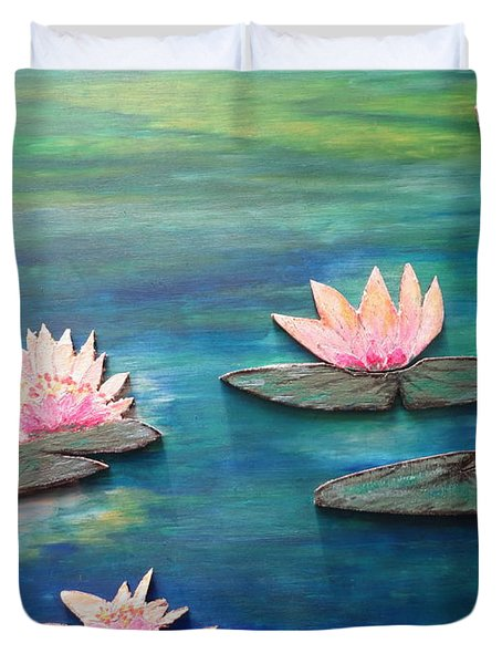 Water Blossom Duvet Cover