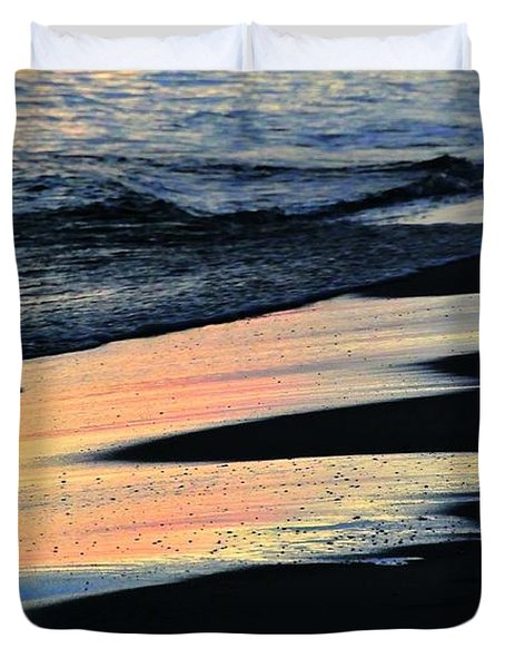 Water Colors .. Duvet Cover by Michael Thomas