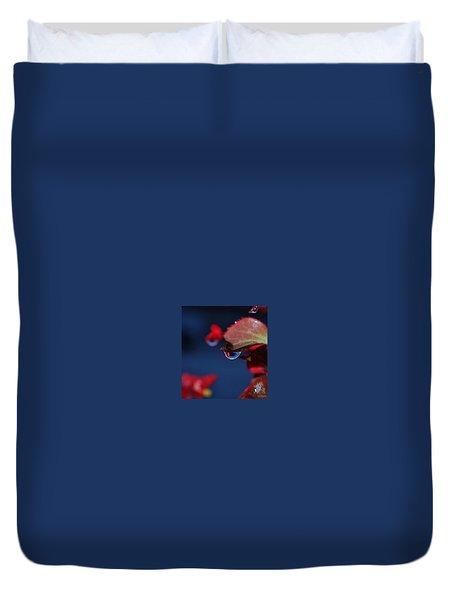 Water Coloured Rhapsody Duvet Cover