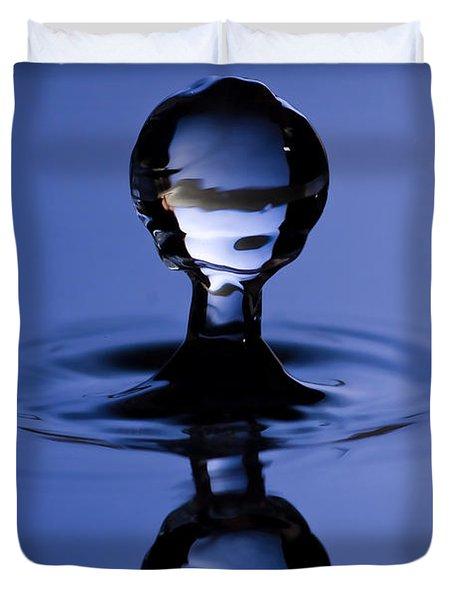 Water Drop Duvet Cover