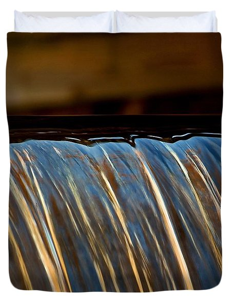 Water Falls Edge 3 Duvet Cover
