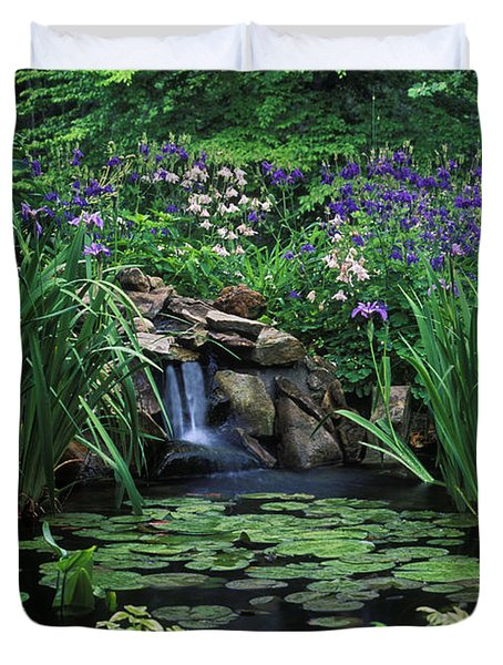 Water Feature - Fs000150 Duvet Cover