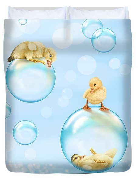 Water Games Duvet Cover