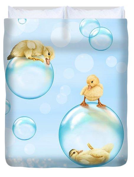 Water Games Duvet Cover