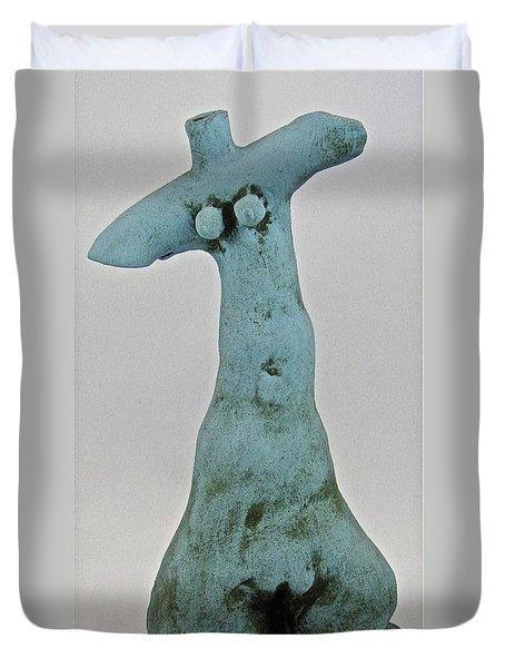 Water Goddess Duvet Cover