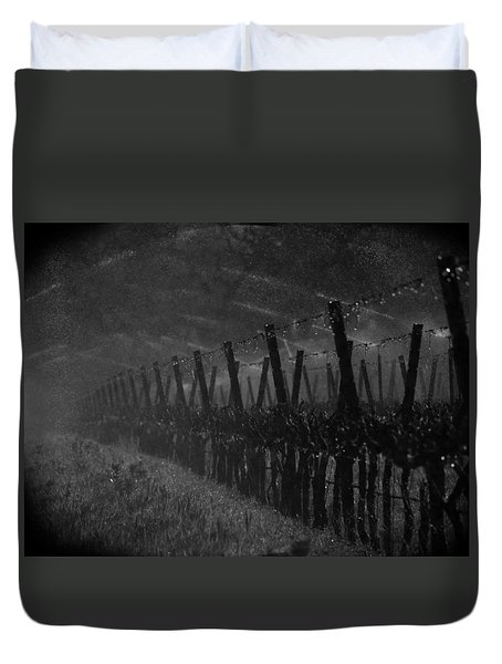 Water Into Wine Duvet Cover by Bill Gallagher