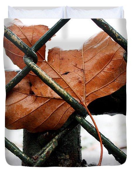 Water Leaf Duvet Cover by Mark Ashkenazi