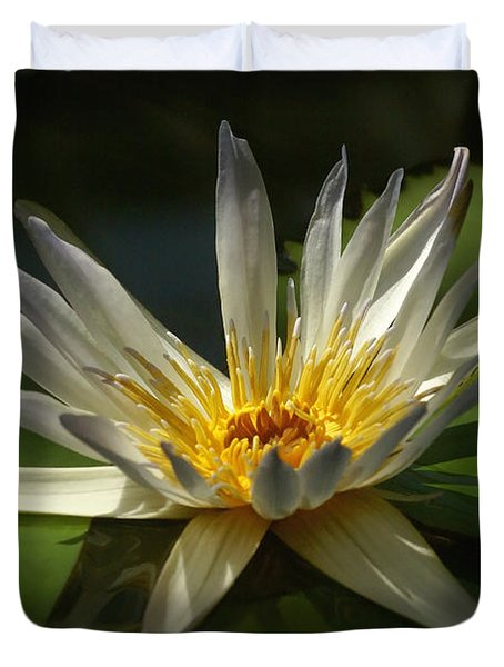 Water Lily 2 Duvet Cover by Rudi Prott