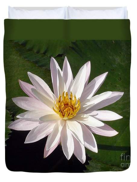 Water Lily Duvet Cover by Sergey Lukashin