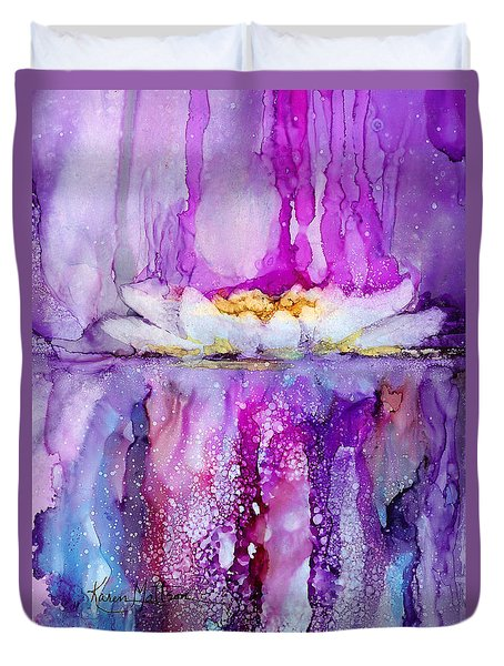 Water Lily Wonder Duvet Cover