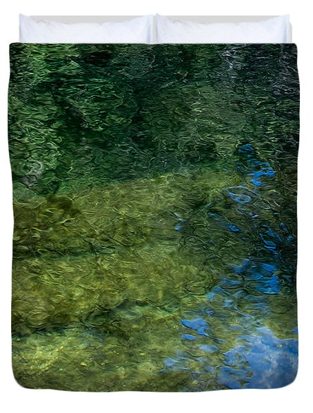 Water Reflections Duvet Cover