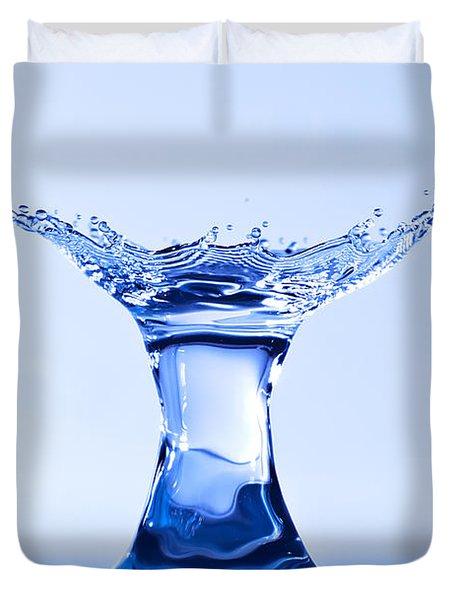 Water Splash Duvet Cover