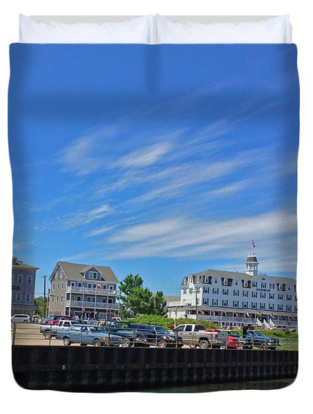 Water Street Block Island Duvet Cover by Todd Breitling