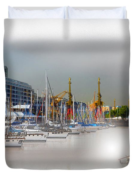 Water Way Buenos Aires Duvet Cover