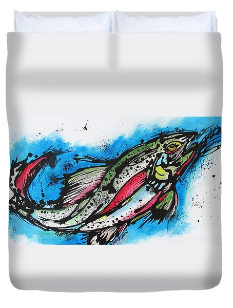 Water Way Duvet Cover by Nicole Gaitan