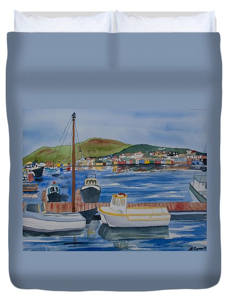 Watercolor - Dingle Ireland Duvet Cover