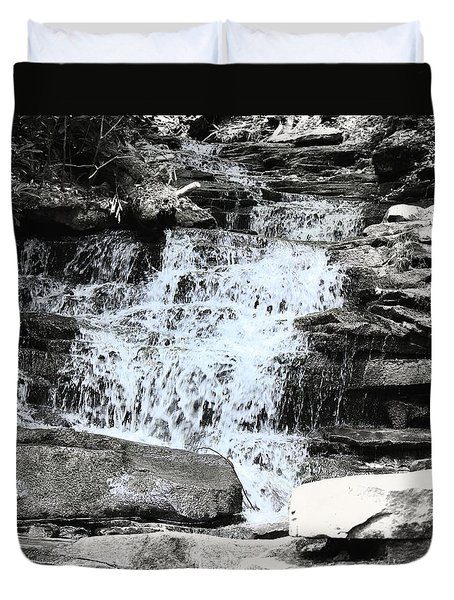 Waterfall 3 Duvet Cover