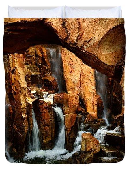 Waterfall 3 Duvet Cover by Richard Zentner