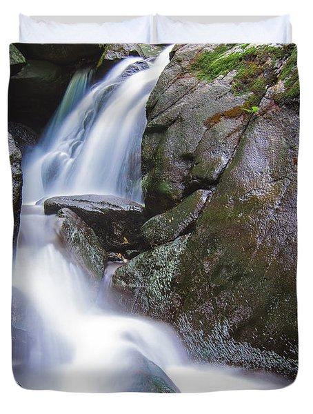 Waterfall Duvet Cover by Eduard Moldoveanu