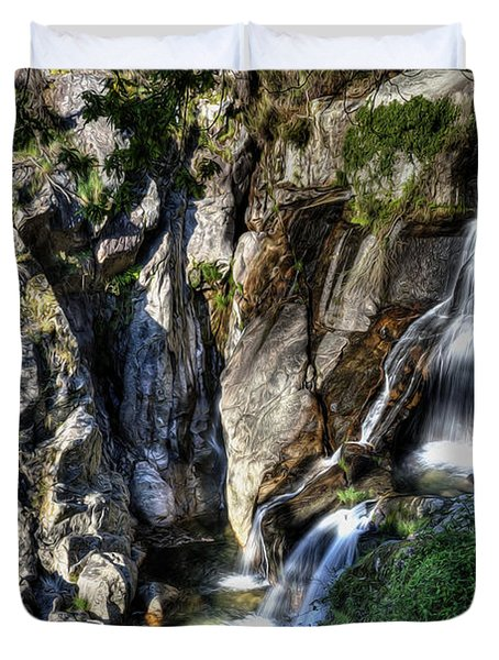 Waterfall IIi Duvet Cover by Marco Oliveira