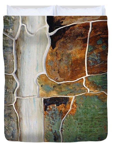 Waterfall Slate Duvet Cover