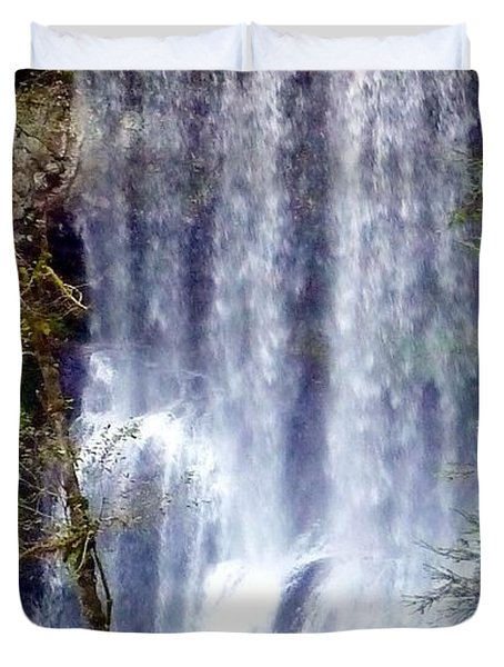 Waterfall South Duvet Cover