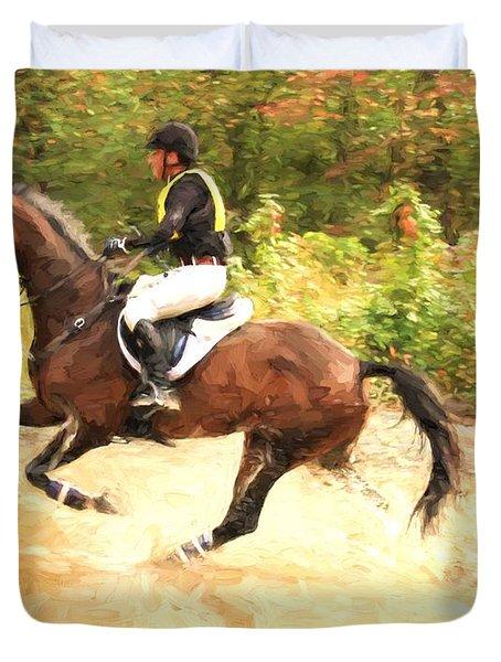 Waterhorse Duvet Cover