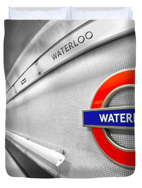 Waterloo Duvet Cover