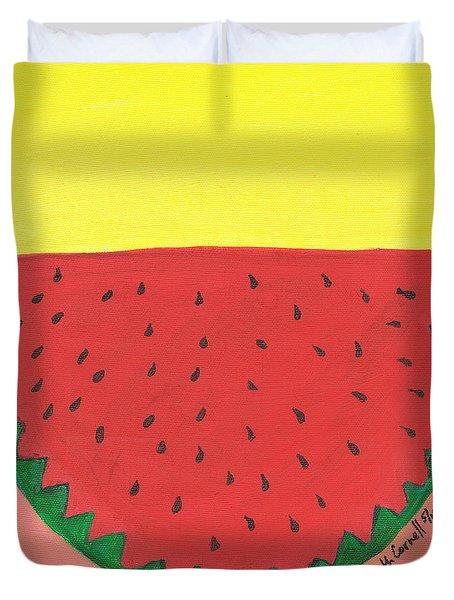 Watermelon 1 Duvet Cover