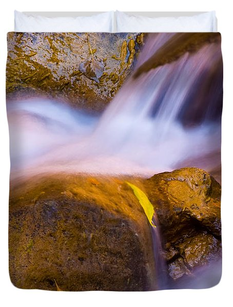 Waters Of Zion Duvet Cover by Adam Romanowicz
