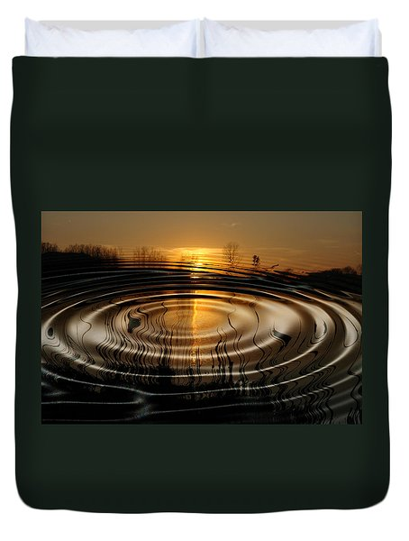 Watersun Duvet Cover by Kevin Cable