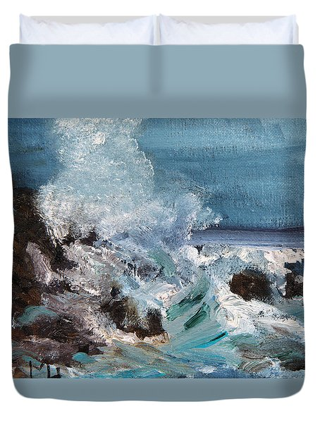 Waterworks I Duvet Cover