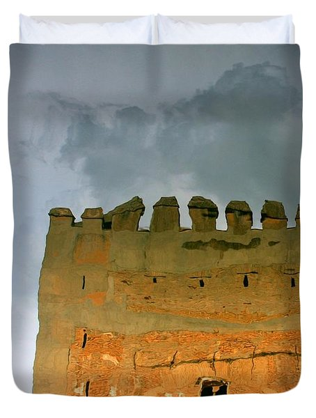 Watery Alhambra Duvet Cover
