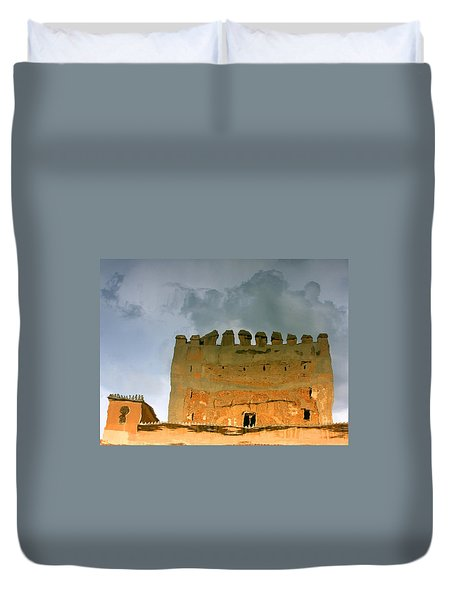 Watery Alhambra Duvet Cover