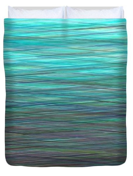 Watery Deep Duvet Cover by Will Borden