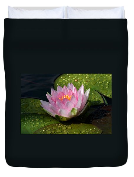 Watery Lily Duvet Cover by Doug Norkum