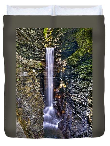 Watkins Glen Cascade Duvet Cover