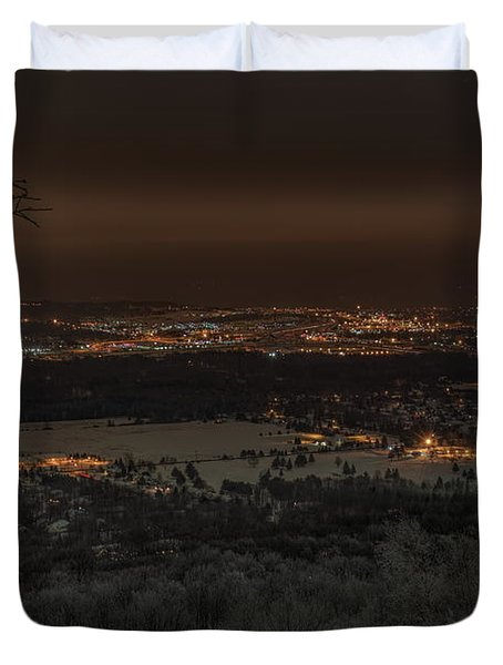 Wausau From On High Duvet Cover