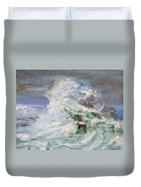 Wave Action Duvet Cover