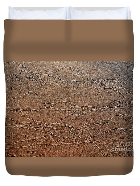Wave Art Duvet Cover