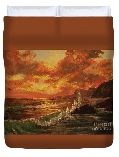 Wave Crash Duvet Cover