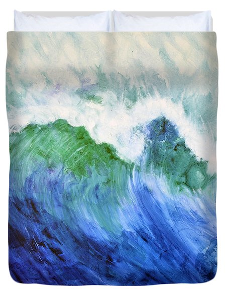 Wave Dream Duvet Cover